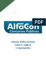Alfacon Tecnico Do Inss Fcc Lingua Portuguesa Pablo Jamilk 1