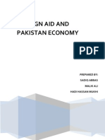 Impact of Foreign Aid on Pakistan