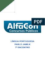 Alfacon Tecnico Do Inss Fcc Lingua Portuguesa Pablo Jamilk 7