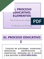 El Proceso Educativo