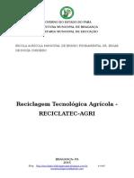 Projeto Recicclatec-Agri 2016