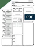 D&D 5e - Ficha Alternativa 1 Traduzida e Editável