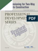 Pdh Post Tensioned Concrete Design