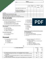 Cuestionario convivencia escolar