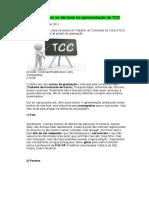 Sete Dicas Para Se Dar Bem Na Apresentação de TCC