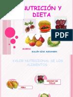 Diapositiva Nutricion y Dieta Exposicion