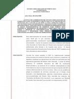 OE-2016-010 Para declarar un período de emergencia para el Banco Gubernamental de Fomento para Puerto Rico