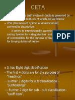 CETA - Tariff Act