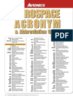Avionics Magazine - Aerospace Abbreviation Guide