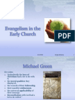 Evangelism of Early Church