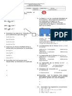 Examen 4o Bim Mate II