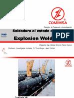 Soldadura por Explosión (EXW) Explosion Welding