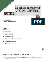 Tunnel Field-effec Transistors