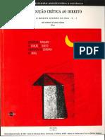 DANR - Volume 1 - Introducao Critica Ao Direito