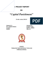 Capital Punishmet