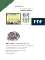 Isomorfismo Mineral