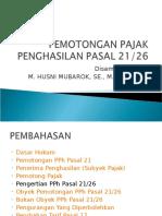 Slide Potput Pph Pasal 21