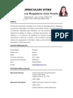 Curriculum Rosa m Ortiz 01