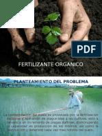 Fertilizante organico