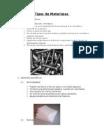 Materiales en La Industria
