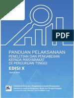 BUKU PANDUAN PENELITIAN DAN PENGABDIAN EDISI X 2016.pdf