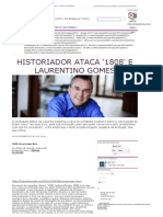 Historiador Ataca '1808' e Laurentino Gomes _ Brasil 24_7