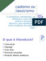 Trabalho de Português - ARCADISMO