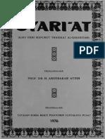 Syariat; Ilmu Fiqh Menurut Tariqat al-Qadiriyyah