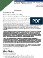Diane Rowden Mining Letter