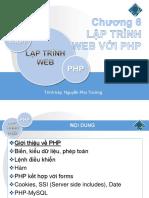 Chuong6-Lap Trinh Web Voi PHP