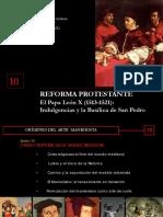 PPT10 La Reforma Protestante y La Contrarreforma