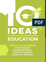 10 Ideas for Education, 2016