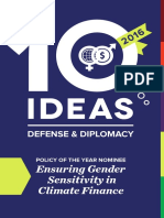 10 Ideas for Defense & Diplomacy, 2016