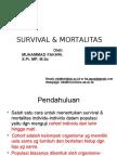 Survival Dan Mortalitas Bioper 2014 OK