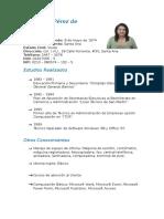 Curriculum Rosa Lidia Pérez de Menéndez (1)