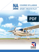 Cessna Training Syllabus