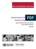 Human Factors Review