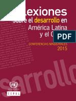 CEPAL Conferencias Magistrales 2015