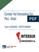 Intersur Tramo 4 Web