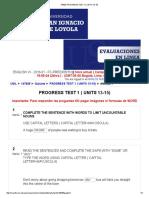 147825_ Progress Test 1 ( Units 13-15)