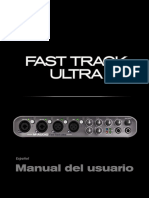 Fast Track Ultra Manual de Usuario