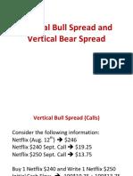 Vertical Bull Spread and Vertical Bear Spread