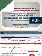 Metodologia Medición de Pobreza