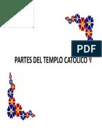 Partes del templo católico-cristiano