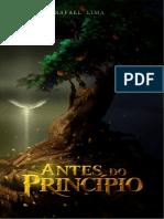 Antes Do Princípio - Livro Rafa Lima