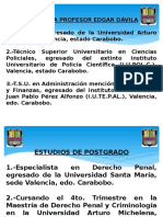 PRESENTACIÓN DE ACTAS POLICIALESPresentación de Actas Policiales