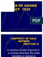Sales of Goods Act-1930