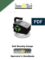 SDG200 Manual