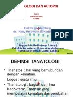 tanatologi ppt