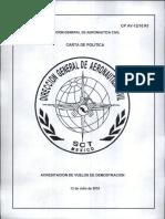 Cp Av-12-10 r1 - Acreditacion Vuelos Demostración